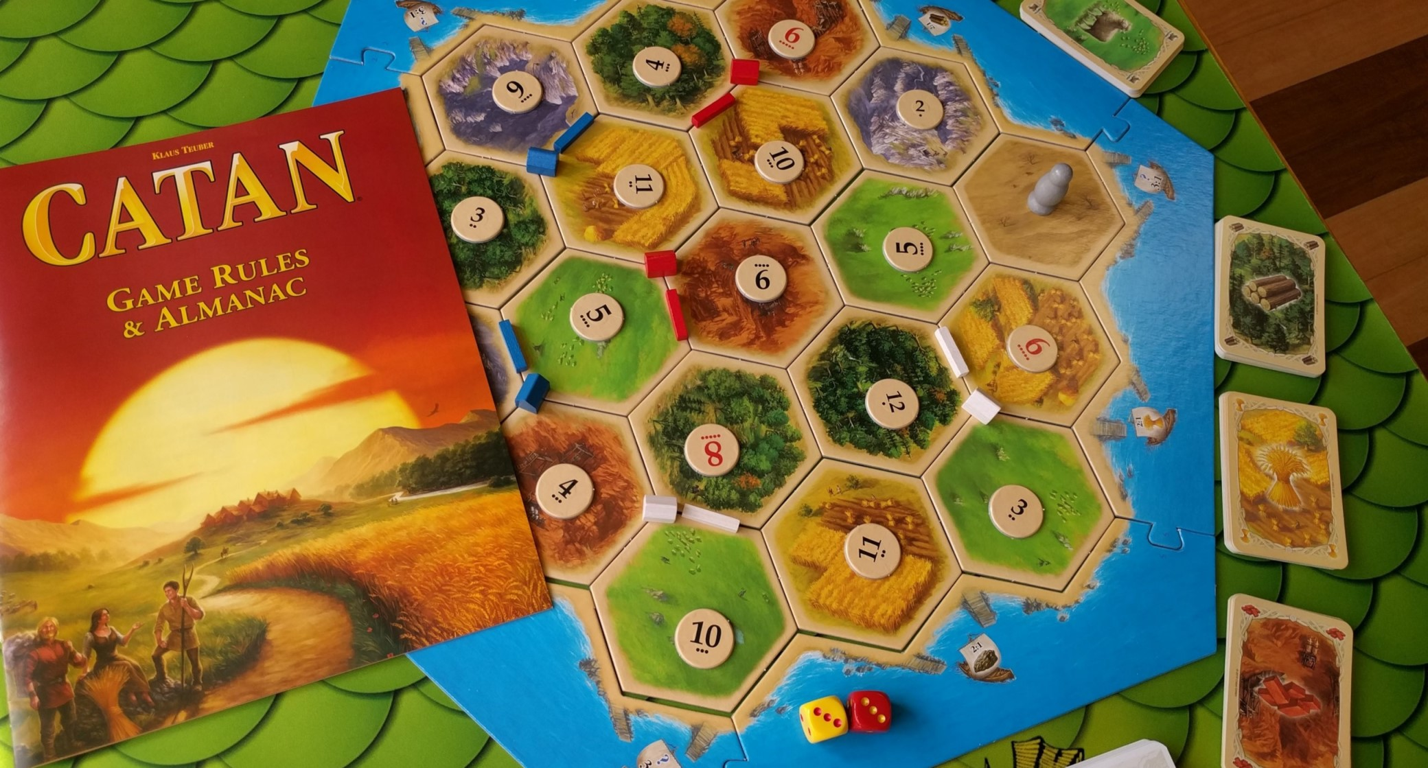 the letters of catan