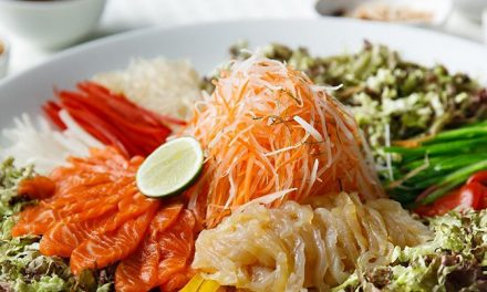 How to Make the Perfect Yee Sang at Home with Your Kids