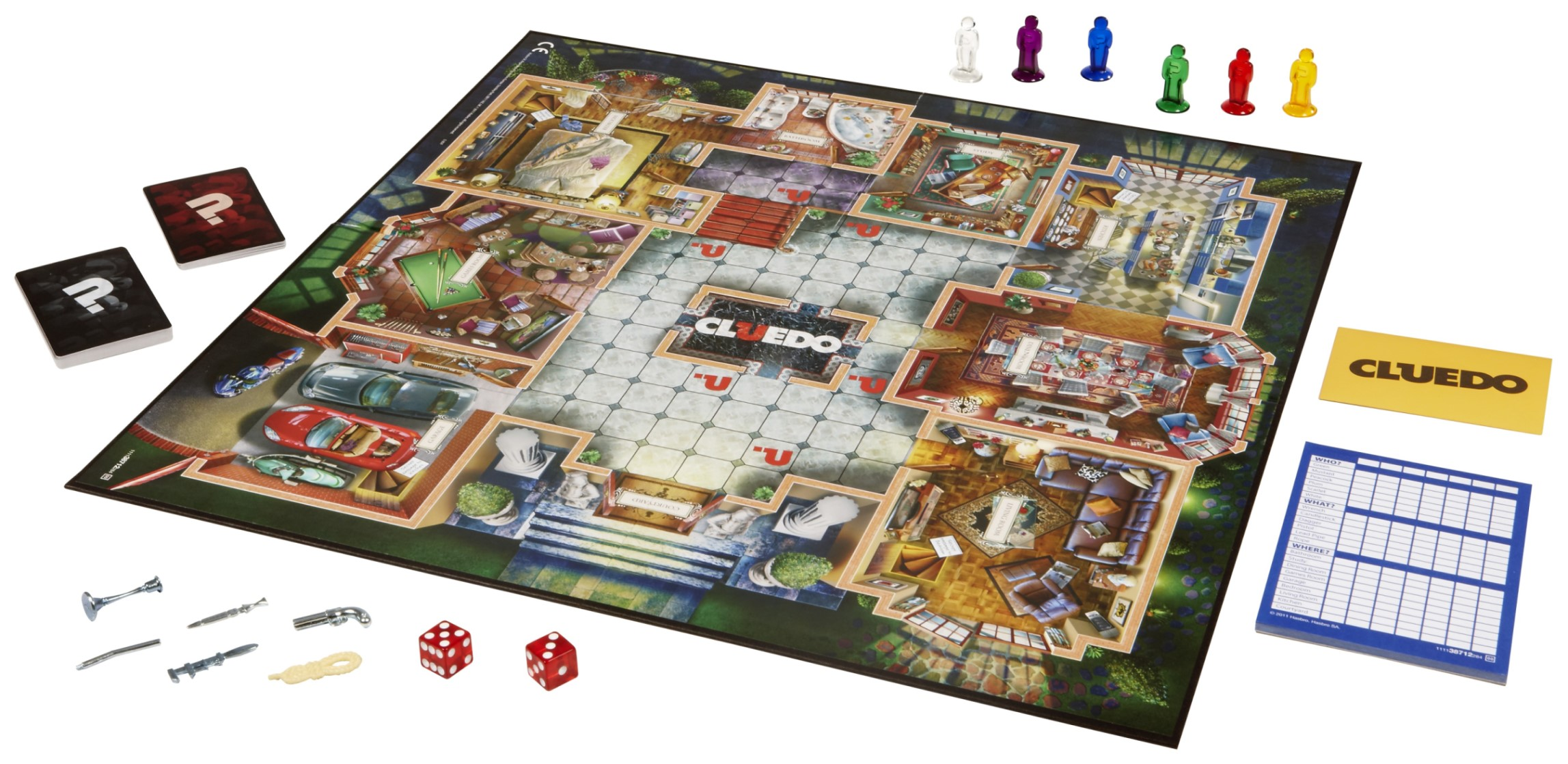Cluedo board game