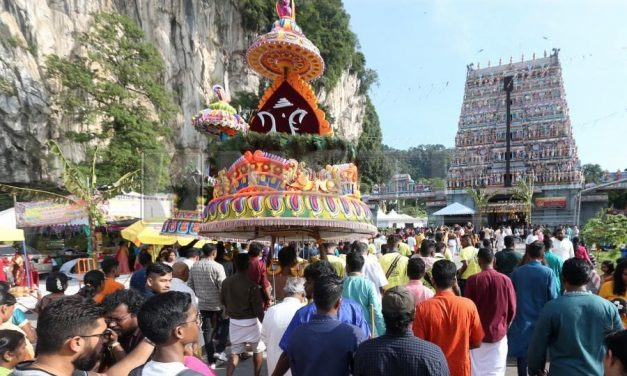 Why do Indians pierce their skin during Thaipusam?