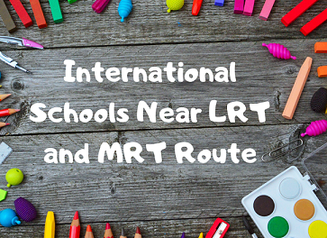 List of International Schools Located Near LRT/MRT/BRT Stations