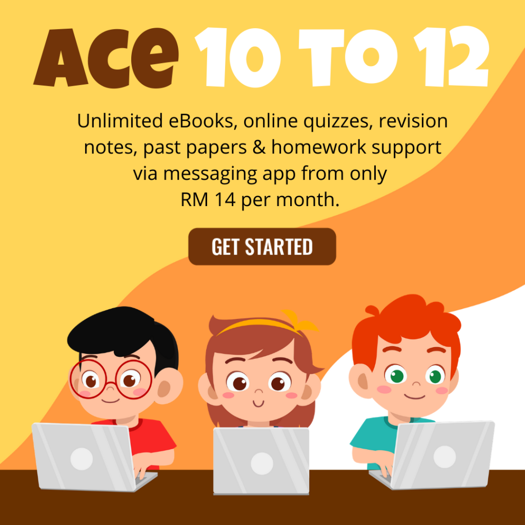 EduReviews eLearning ACE Programme for 10 to 12 years old