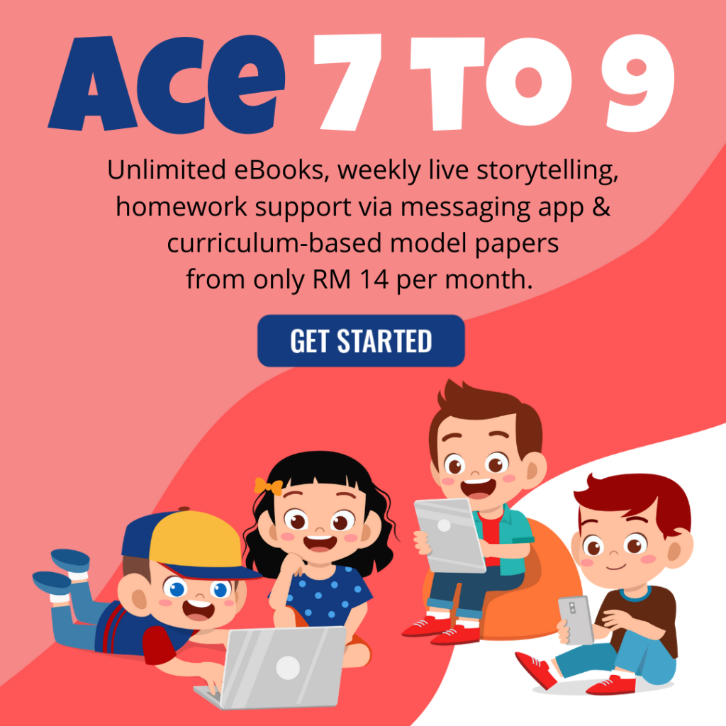 EduReviews eLearning ACE Programme for 7 to 9 years old