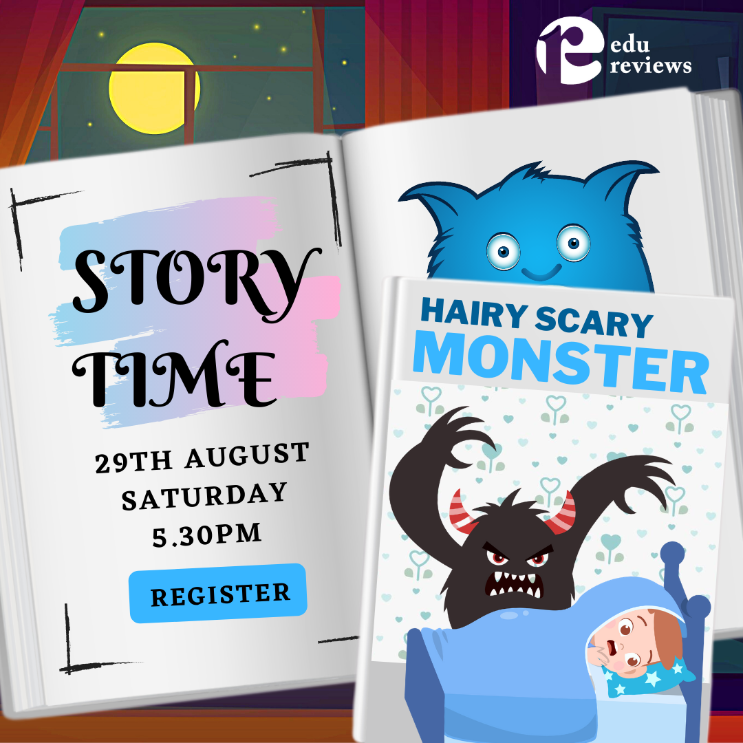 Story Time_Hairy Scary Monster